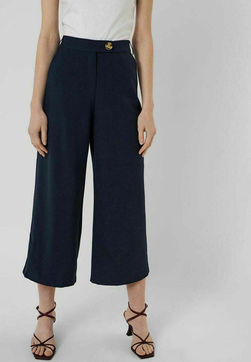 Vero Moda - Trousers - navy blazer