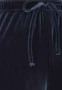 Pieces - PCGIGI PANTS - Tracksuit bottoms - navy blazer - 2