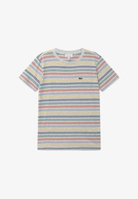Lacoste - Print T-shirt - alpes grey chine/multicoloured - 2