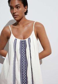 OYSHO - STRAPPY  - Day dress - white - 3