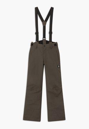 FOOTSTRAP LOGO BOYS - Snow pants - pine grey
