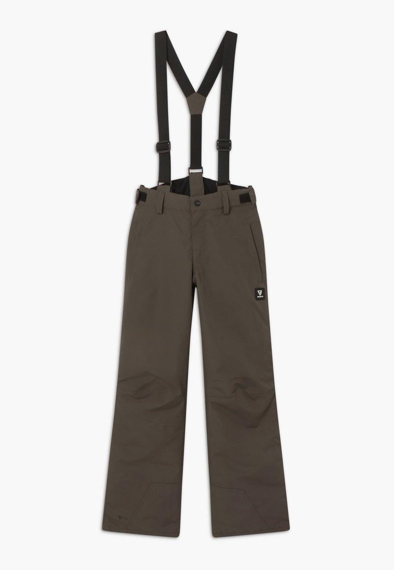 Brunotti - FOOTSTRAP LOGO BOYS - Zimní kalhoty - pine grey