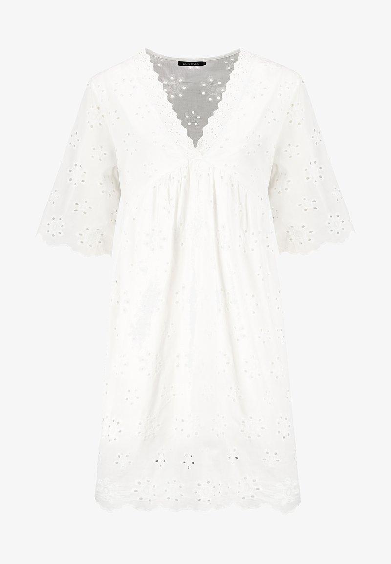 Sublevel - Maxi dress - white