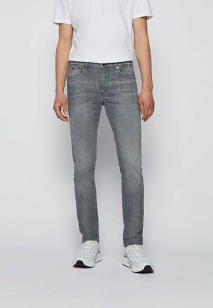 CHARLESTON - Slim fit jeans - silver
