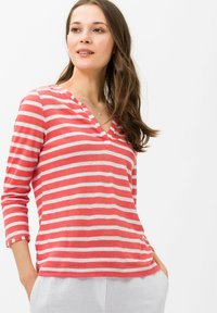 BRAX - STYLE CLAIRE - Long sleeved top - coral - 0