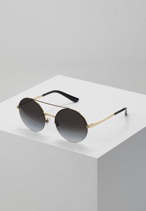 Gafas de sol - gold/black