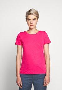 J.CREW - VINTAGE CREWNECK TEE - Basic T-shirt - sweetbriar - 0