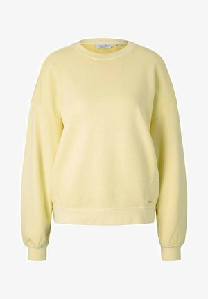 Sweatshirt - soft yellow