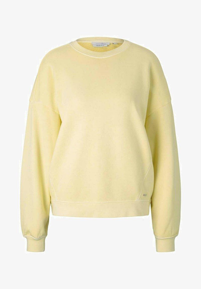 TOM TAILOR DENIM - Sweatshirt - soft yellow