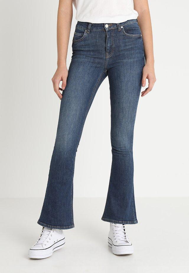 NATASHA EXCLUSIVE - Bootcut jeans - dark blue