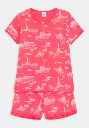 PARIS PRINT SHORT - Pyjama set - groseiller