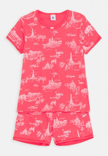 PARIS PRINT SHORT - Pyjama set - groseiller