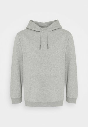 ONSCERES LIFE HOODIE PLUS - Jersey con capucha - light grey melange