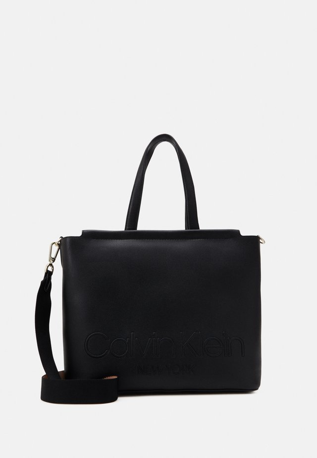 SHOPPER - Cabas - black