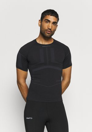 ACTIVE INTENSITY - Undershirt - black asphalt