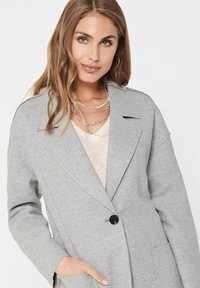 ONLY - Manteau court - medium grey melange - 4