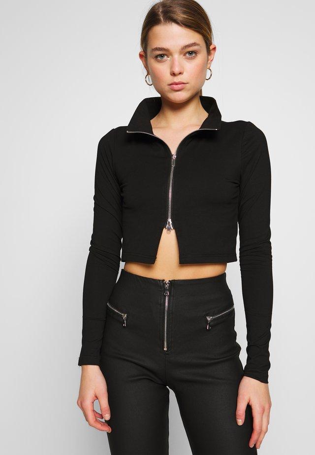 UNITY TOP - Long sleeved top - black