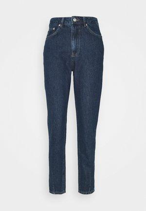 HIGH WAIST DART DETAIL  - Straight leg jeans - mid blue