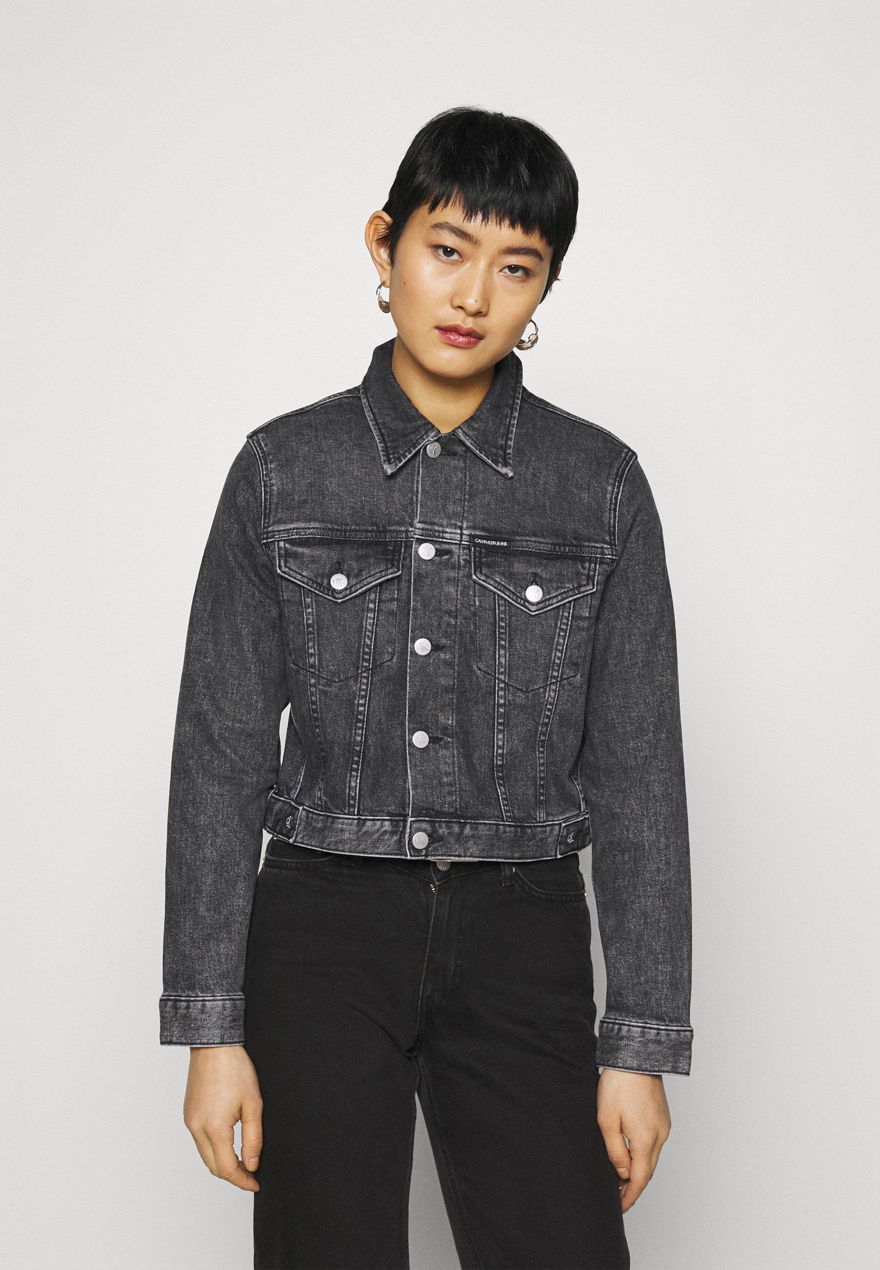 Women CROPPED JACKET - Denim jacket