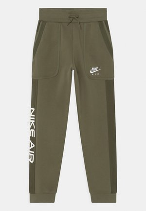 AIR - Tracksuit bottoms - medium olive/cargo khaki/white