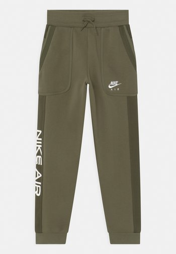 AIR - Pantaloni sportivi - medium olive/cargo khaki/white