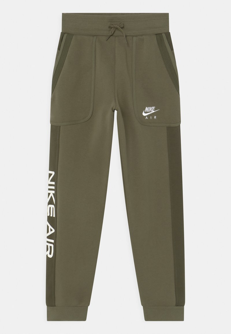 Nike Sportswear - AIR - Pantalones deportivos - medium olive/cargo khaki/white