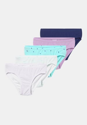 5 PACK - Slip - blue/light blue