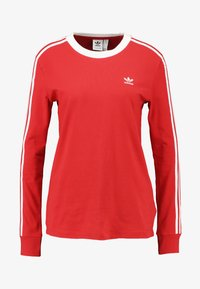 adidas Originals - Top s dlouhým rukávem - lush red/white