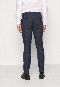 Selected Homme - SLHSLIM MAZELOGAN - Suit - medium blue melange - 5