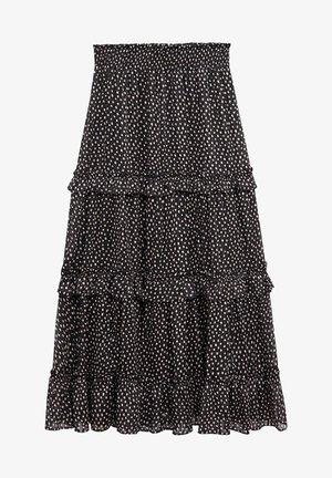 DOMI - A-snit nederdel/ A-formede nederdele - schwarz