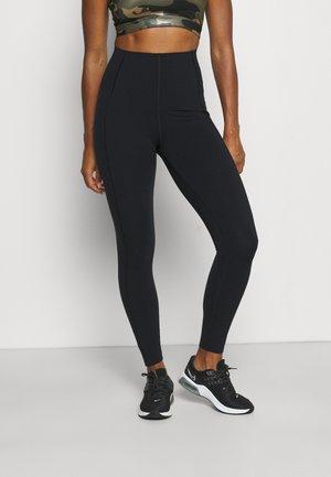 POWER HIGH WAIST WORKOUT LEGGINGS - Leggings - black