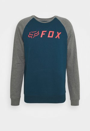APEX CREW  - Fleece trui - dark indigo