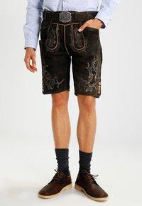 Stockerpoint - LAURENCE - Kožené kalhoty - bison - 2