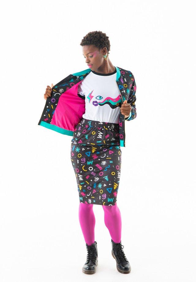 Falda de tubo - multicolor