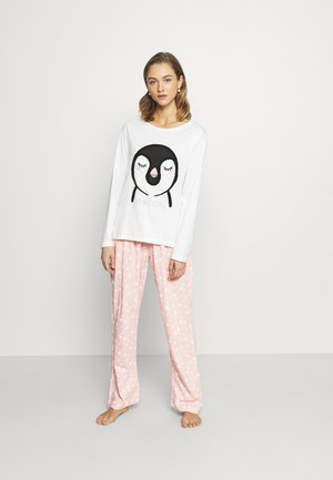 TOWLLING PENGUIN SET - Pyjama - pink