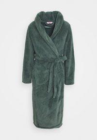 Hunkemöller - ROBE LONG SNUGGLE - Dressing gown - balsam green - 4