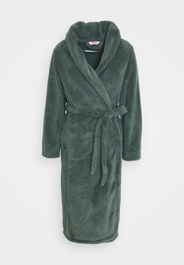 ROBE LONG SNUGGLE - Badjas - balsam green
