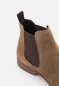 Zign - LEATHER  - Classic ankle boots - taupe - 5
