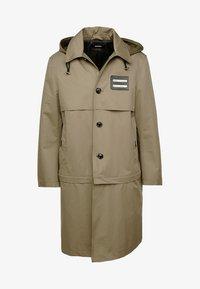Diesel - J-KODORY JACKET - Short coat - beige/olive - 5