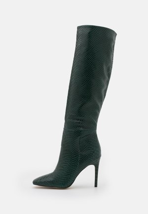 OLURIA - High heeled boots - green