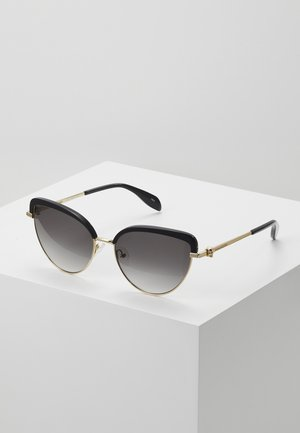 Lunettes de soleil - black/gold-coloured/grey