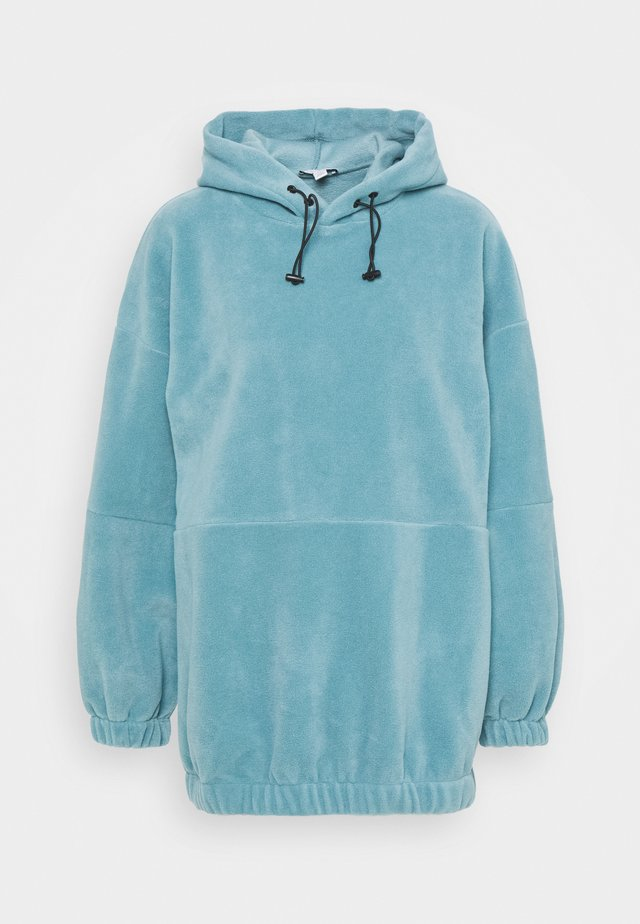 OVERSIZED HOODIE - Jersey con capucha - blue