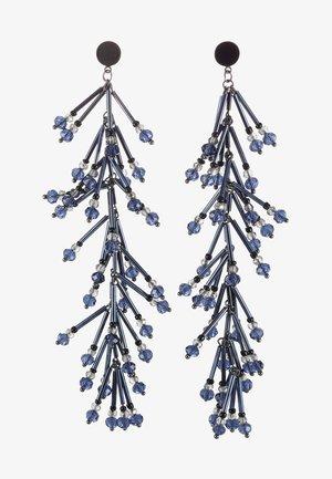 ALAN - Earrings - merlina blue