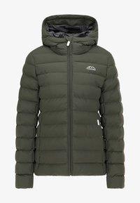 ICEBOUND - Winter jacket - dunkeloliv - 4