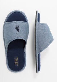 Polo Ralph Lauren - ANTERO - Slippers - blue/navy - 1