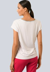 Alba Moda - Print T-shirt - weiß rot blau gelb - 2