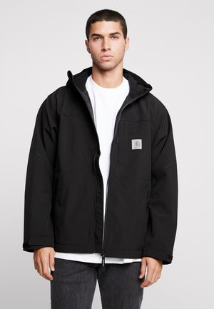 SOFTSHELL JACKET - Summer jacket - black