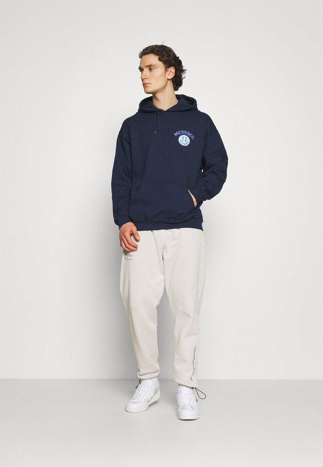 TWISTED HOODIE UNISEX  - Hoodie - blue