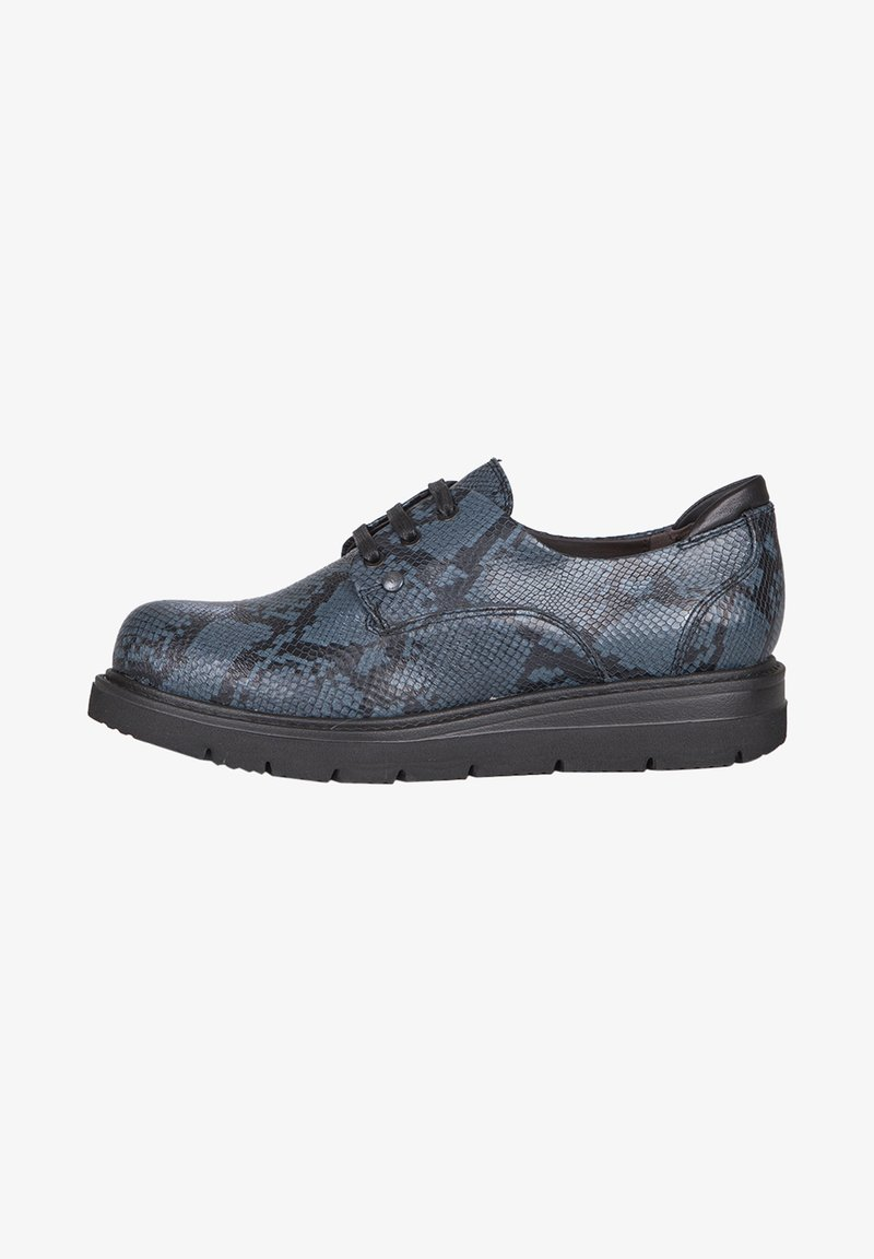 TJ Collection - DERBIES - Casual lace-ups - dark blue