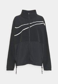 Training jacket - black/silver